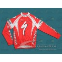 Maillot manga larga Specialized 2009