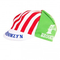 Brooklyn Retro Stripes Gorras de ciclismo