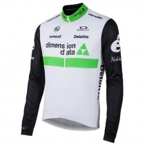 Maillot manga larga 2016 Equipo Dimension Date Blanco