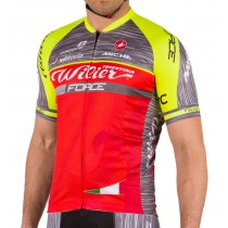 Maillot manga corta 2017 Wilier Force Pro Equipo