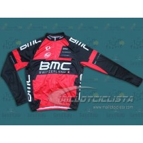 Maillot manga larga 2014 Team BMC