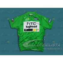 Maillot manga corta 2011 HTC Points Classification Verde