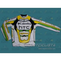 Maillot manga larga Columbia HTC Highroad 2009