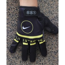 Guantes equipo 2013 Livestrong Negro