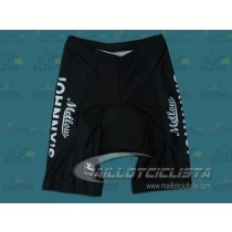 Culotte corto, sin tirantes Mellow Johnny's Bike Shop Negro
