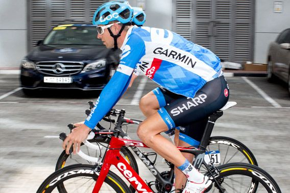 team garmin cycling jersey