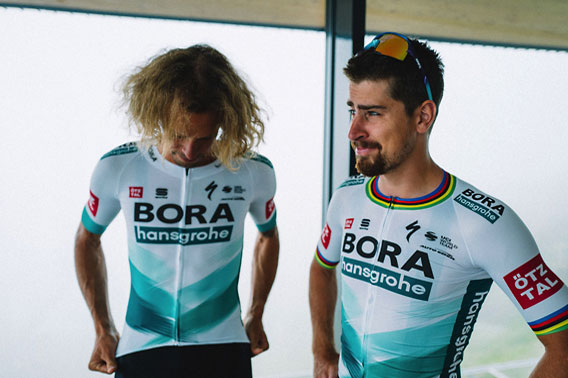 team bora cycling jersey