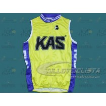 Maillot sin mangas equipo KAS (Chaleco verano)