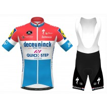Equipación 2020 Quick-Step Luxembourg Champion  (Maillot y Culotte con tirantes)