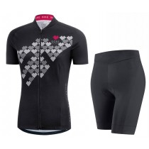 2017 Gore Element Digi mujeres Negro  (Maillot y Culotte sin tirantes)