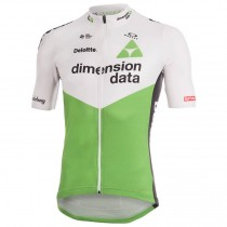 Maillot manga corta 2018 Dimension Data Blanco