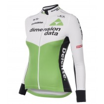 Maillot manga larga 2018 Dimension Data Mujeres