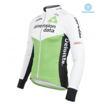 Chaqueta 2018 Dimension Data Blanco Invierno