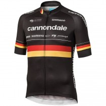 Maillot manga corta 2019 Cannondale Fábrica Racing Germany Champion