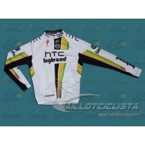Maillot manga larga 2011 Columbia HTC Highroad