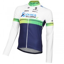 Maillot manga larga 2015 Orica GreenEdge